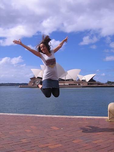 Jumping in Sydney