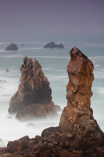 Islotes de los Urros al amanecer / Urros islets at dawn