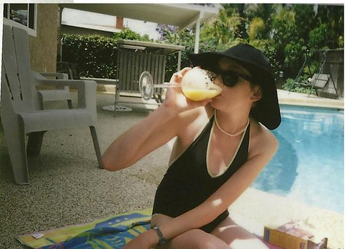 pool day instax 2