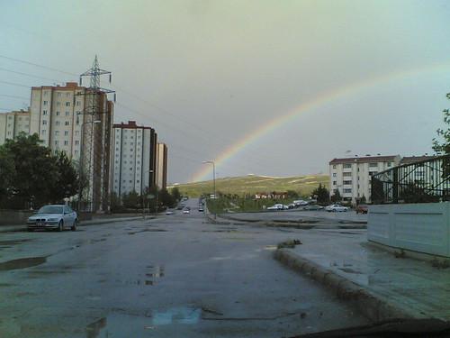 Ankara, Gökkuşağı, gök kuşağı, rainbow, bow, iris