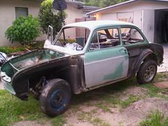 100_6377 (ssbielman) Tags: vw volkswagen notchback azurblau
