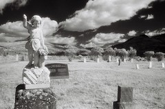 The Watcher, Lonerock Cemetery