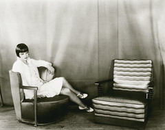 louise brooks, two chairs 25may1928