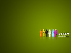 No Racism - Wallpaper @ 1280 (dannycg) Tags: world brown india white black love yellow photography one peace heart no diversity vision universal language handicap racism mixture fit uniformity discrimination prejudice oneness physically intolerance bigotry liston