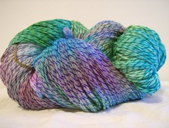 Purple, Blue, Green Licorice Twist