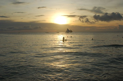 Boracay Beach Sunset Dusk by islandcode