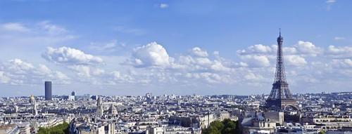 Panorama entre torres