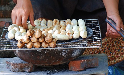 banana grilling