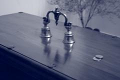 Bell Reflections (Swami Stream) Tags: india canon rebel wooden bell chest bangalore karnataka swami swaminathan banaglore ulsoor bengaluru xti swamistream swamistreamcom
