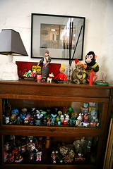 partial shot of the vinyl toy collection. (krista baugham photo) Tags: seattle collection vinyltoys sistershouse soawesome shehasthebeststuff kristabaughamphotography