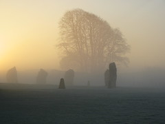 From Flickr - Avebury in the mist