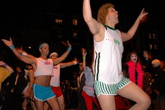 Halloween Parade 2007: Richard Simmons and Sweating to the Oldies (LarimdaME) Tags: nyc halloween costume parade richardsimmons halloweenparade oct31