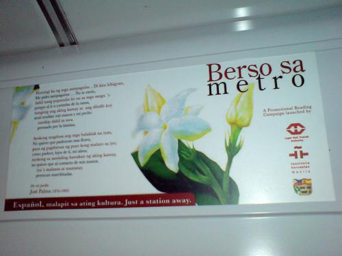 Berso sa metro # 2