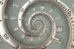 Droste 3 (Some nutter called Mark Grimwood) Tags: manipulated watch gimp manipulation droste sekonda mathmap