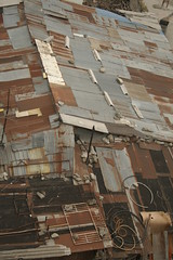 Patchwork Roof (Emma_Muller_Photography) Tags: roof abstract art gold iron personal shapes award best sheets fave faves fav choice patchwork favourite