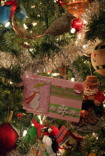 Pink Christmas surprise in the mail