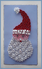 Handmade Christmas card by loopy lou p