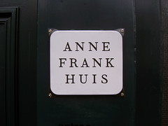 Anne Frank House Plaque