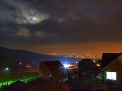 Marosvasarhely (ursusmaior) Tags: moon night clouds hold marosvásárhely erdély erdely éjszaka marosvasarhely éj ursusmaior