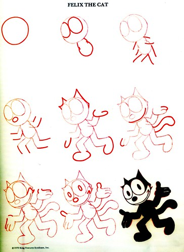 Felix the cat how to draw