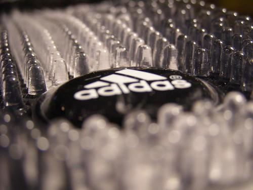 white black dof clear massage adidas slides sandal santiossage