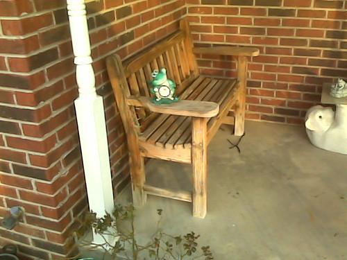 Garden Bench Side