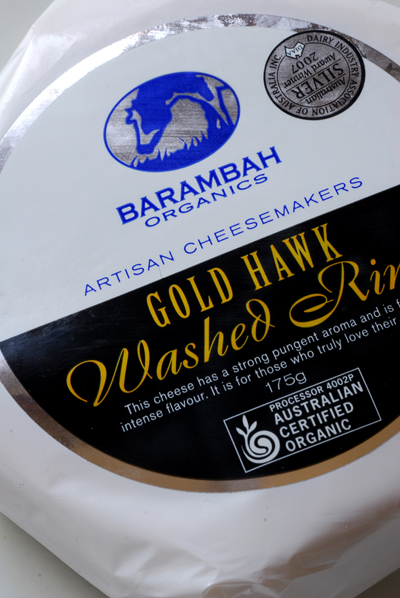 Barambah Organics Gold Hawk Washed Rind© by Haalo