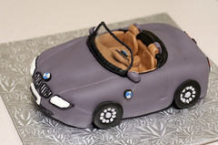 BMW Z4 Cake (mandrake68) Tags: sabrina car cake model carrot bmw z4 decorate fondant
