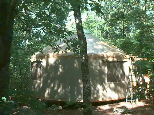 Ozarks Yurt