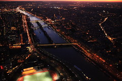 Paris by Night (fspugna) Tags: city trip travel vacation paris france night noche europa europe eiffel francia senna notte parigi nocturno notturno