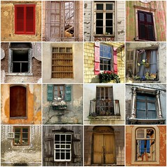 Forgotten Windows (Bella Luna Creative) Tags: windows window architecture vintage antique cement adobe aged oldworld fauxfinishing venetianplaster mailciler