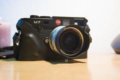Leica M7 0.72 (M31.) Tags: leica love film rangefinder leicam7 m7 cameraporn voigtlander28mmf19