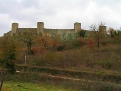 Monteriggioni - vista delle mura