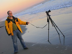 Caught in the Act (fensterbme) Tags: sunset me coast interestingness surf sandiego personal thenorthface ofme pacificocean bryan crumpler canon5d manfrotto coronadoisland cameragear fensterbme takenbymymom interestingness102 i500 triptojoleenssister explore22mar08