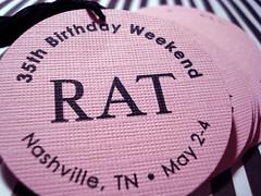 the rat's