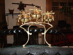 Close-up of the bells (TheGirlsNY) Tags: horsedrawncarriages brooklynnewyork fgguidofuneralhome