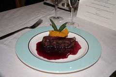 Filet Mignon w/ Cabernet Reduction