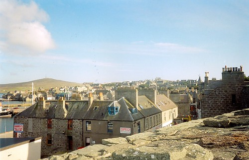 Lerwick from Fort Charlotte