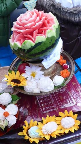 Fruit Curving  -Thai Festival 2008 02-