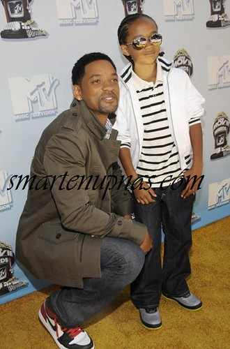 will smith & his son who has a fucked up hairline