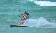 KITE SURFING,  KINGSCLIFF (16th man) Tags: kingscliff nsw newsouthwales kitesurfing australia beach sand surf canon eos eos5dmkiii