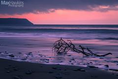 Penbryn Beach, Ceredigion (Max Hawkins) Tags: aberporth bay beach ceredigion coast evening february midwales ocean penbryn rock sand sea sunset uk view wales water waves welshcoast winter