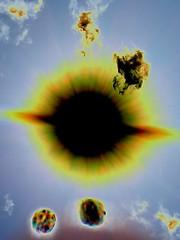 Solar ejecta 3 (DoodleBug.Ink) Tags: washington phone cell negative filter motorola olympia olympiawashington elks olywa backflip