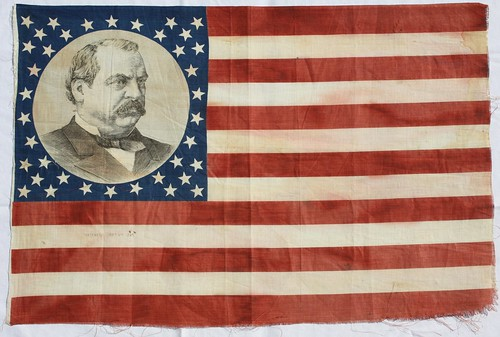 38 Star Grover Cleveland Campaign Flag 1883 | Flickr - Photo Sharing!