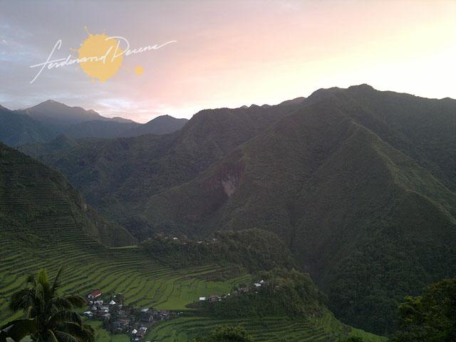 Batad Ifugao Morning Light