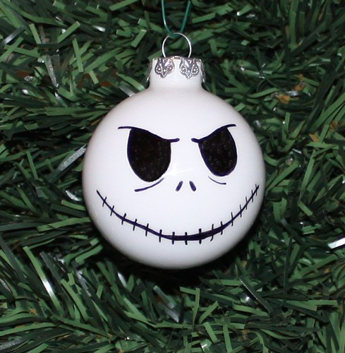 jack skellington ornament - Jack Skeleton Christmas Decorations