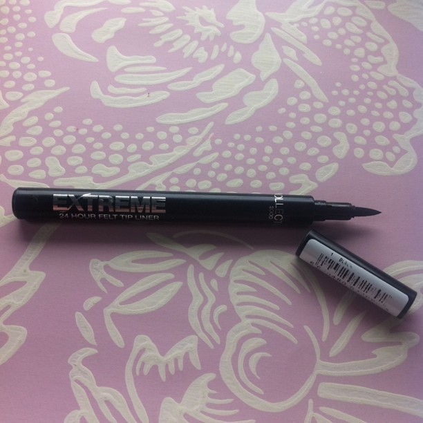 Collection 2000 Extreme 24 Hour Felt Tip Liners - Black 2