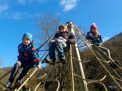 playground (mknt367 (Panda)) Tags: boy girl sunshine playground kids break climbing schlattstall albverein