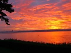 Sunrise over Seattle