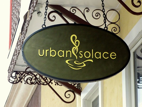 Urban Solace Sign